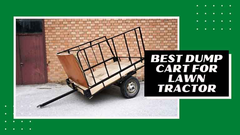 best dump cart for lawn tractor reviews
