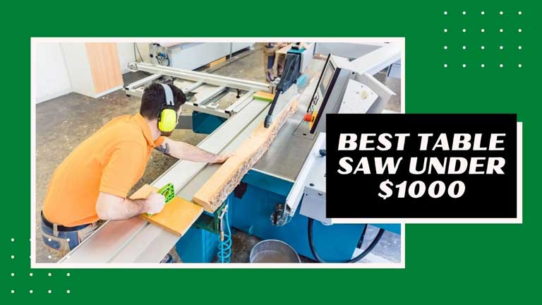 best table saw under 1000 reviews