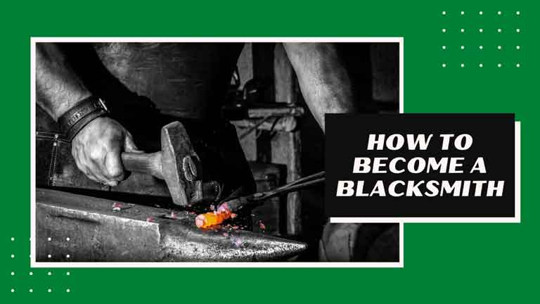 how to become a blacksmith professional
