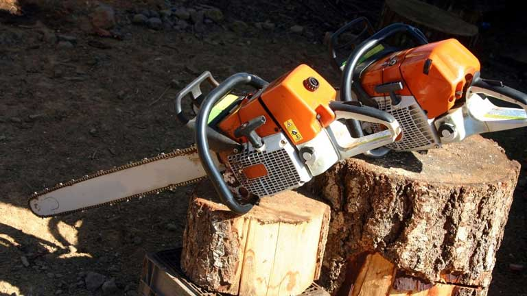 how to port chainsaw