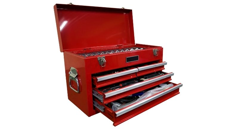 tool chest with multiple storage drawer